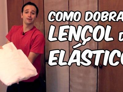 Como dobrar lençol com elástico (dica doméstica)