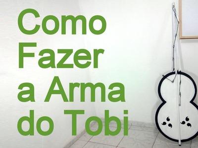 Como Fazer a Arma (Gunbai) do Tobi para o seu Cosplay - Dicas de Cosmaker