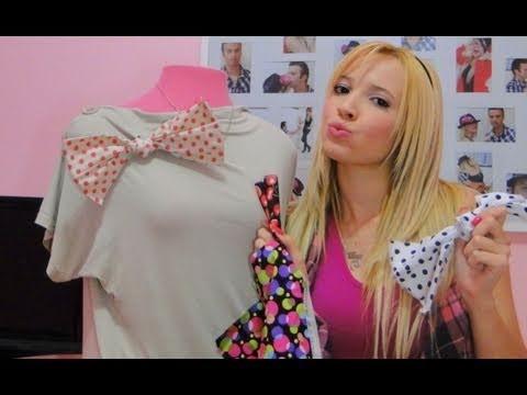 DICA: Up na blusinha sem graça - Laços Coloridos