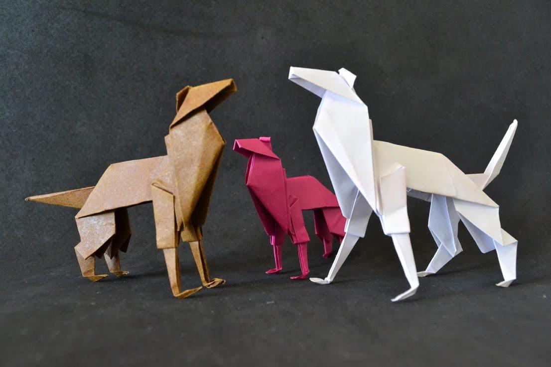 Origami: Cachorro