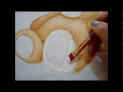 Pintura em tecido Eliane Nascimento: Como eu pinto fralda