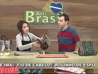 ARTE BRASIL - CLAUDIA WADA - BOLSA GABRIELA EM CARTONAGEM (10.08.2011)