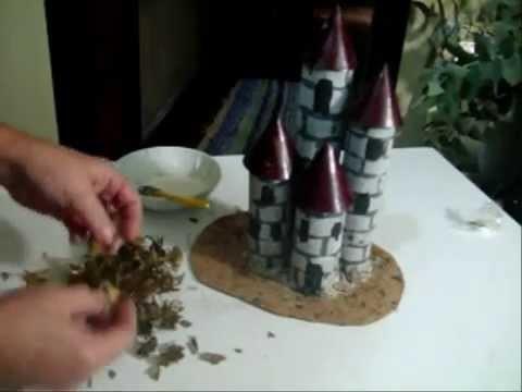 Castelo de rolinhos