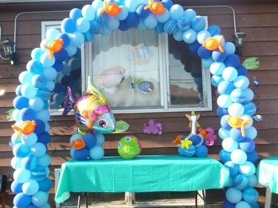 Como fazer um Arco de Balão Espiral - Tutorial Archs Balloon