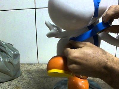 Como resinar papercraft - parte 26 - overdosegamer.blogspot.com.br