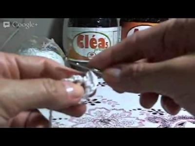 Crochê Irlandês - Ao Vivo - Parte 03 - 2º Motivo