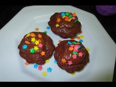 Cupcake de Nutella - Brincando de Ana Maria