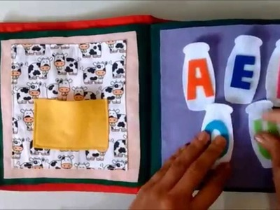 Livro Sensorial - Lady Ateliê