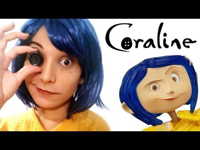 Maquiagem Cosplay - Coraline Jones