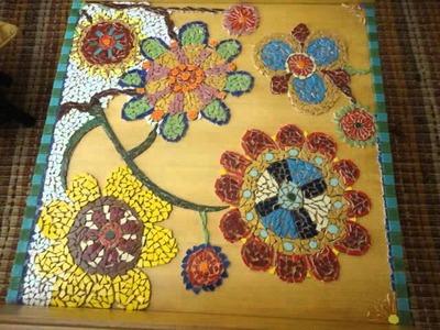 Mesa de Mosaico em Azulejo