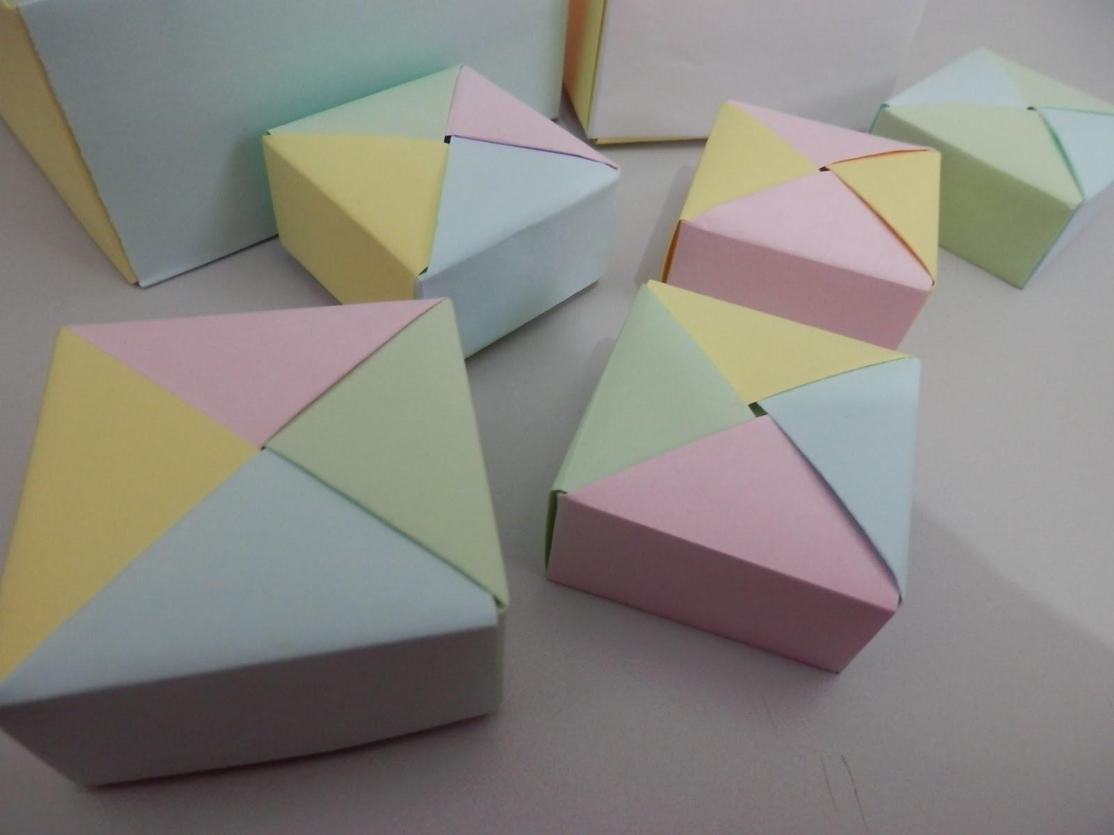 Origami - Caixinha 1