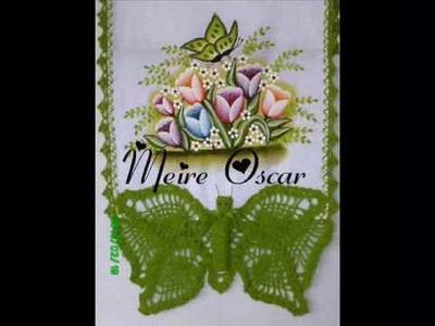 Pintura em tecidos com Meire Oscar
