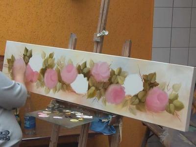 Professora Nura - Pintura a Óleo rosas 2011