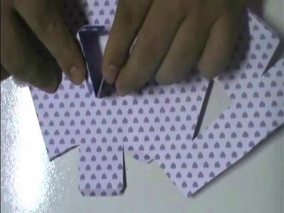 Tutorial Silhouette - Montando Letras 3D - Letra A
