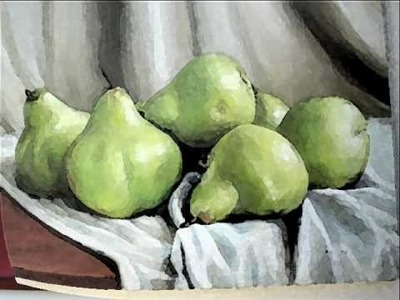 Vitor Lutti - trabalhos oleo sobre tela