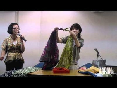 Aprenda a fazer os nós básicos do furoshiki