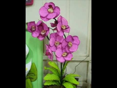 Curso de Flores de EVA