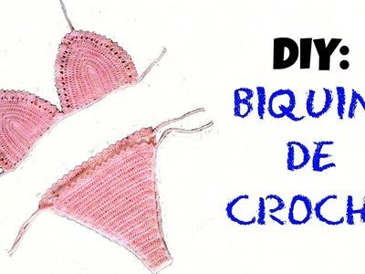 DIY: Biquini de crochê