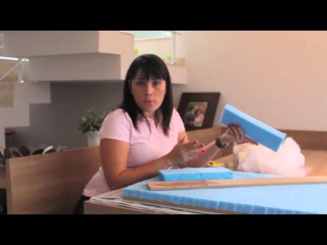 DIY Cabeceira Estofada - http:.cimentoeoutrascoisinhasmais.blogspot.com