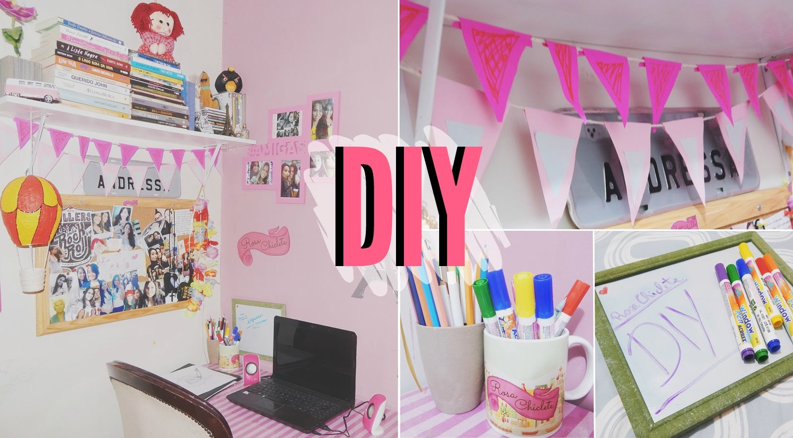 DIY: Organize e decore seu Home Office. Decor Ideas