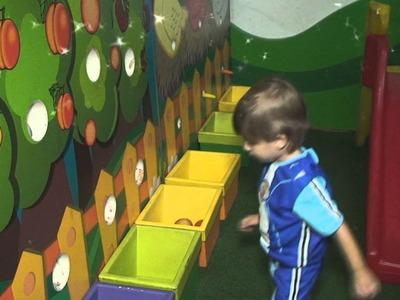 Encerramento de Aniversário: Miguel 3 Anos - Tema LazyTown - EVD artes