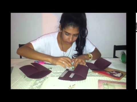 Feito a mão | Mini Scrapbook