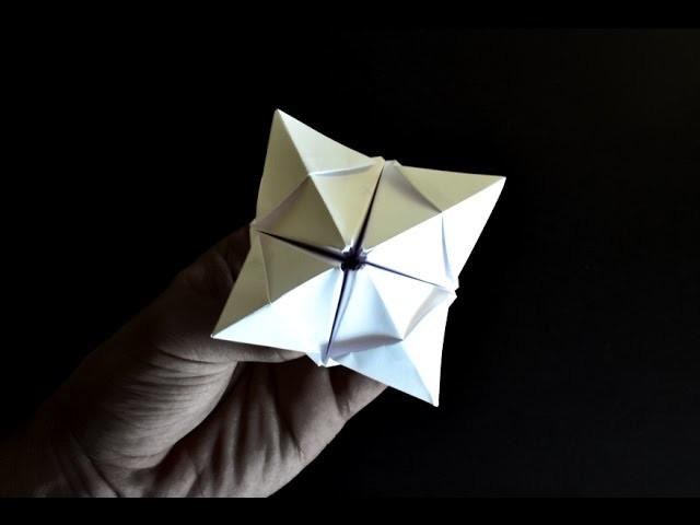 Origami: Brinquedo Abre - Fecha ( Vai e Vem )
