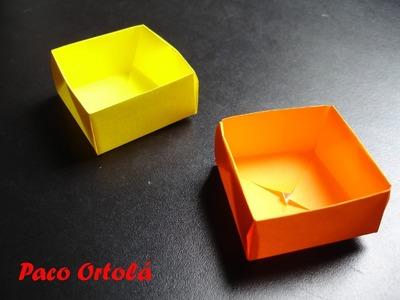 Origami ou dobradura - Caixinha