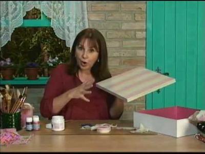 Pintura sobre tecido impermeabilizado - Daiara