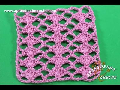 Ponto de Crochê Fantasia 3 - Aprendendo Crochê