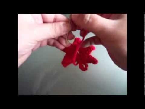 Tutorial de Crochet - Estrela em Malha