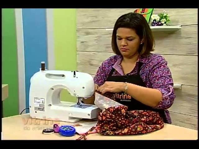 Bolsas em Patchwork com Renata Silva - Vitrine do Artesanato na TV