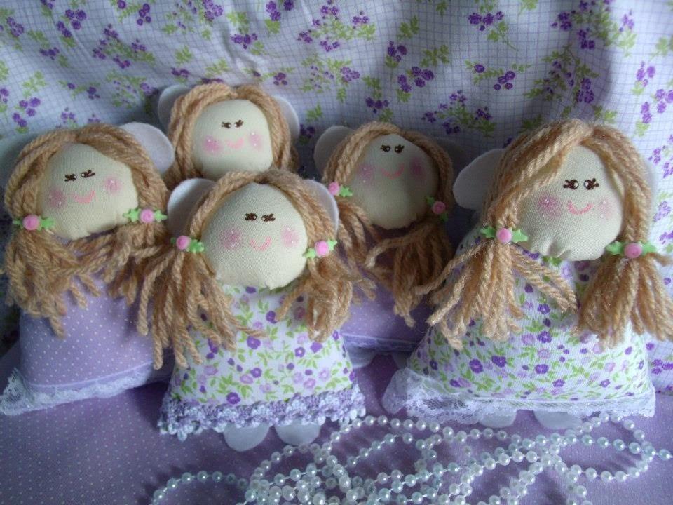 Como fazer boneca em tecido e  feltro