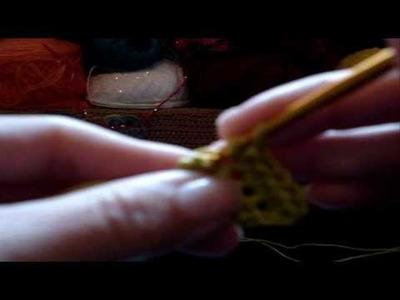 Crochê - Lenço Canarinho