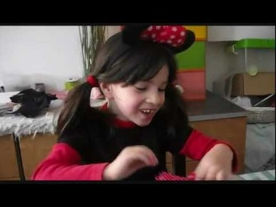 DIY: Tiara da Minnie  and you Tutorial da bandelete