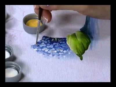 Mulher.com 17.08.2011 - Pintura em pano de prato