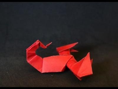 Origami: Escorpião ( Jozsef Zsebe)