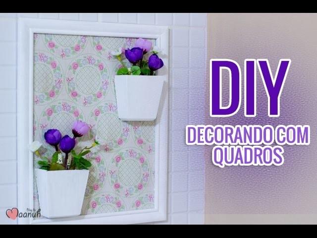 Quadros decorativos fofos - DIY