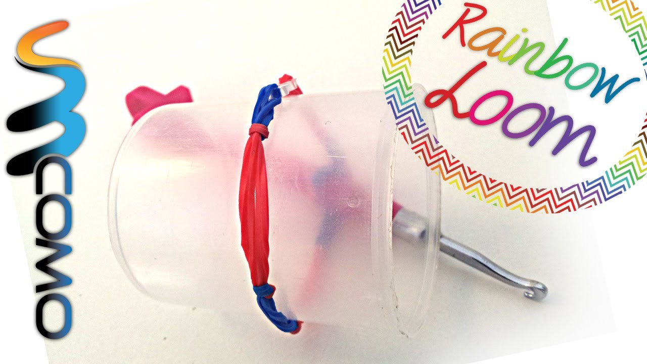 Rainbow Loom - Pulseira Básica de Verão