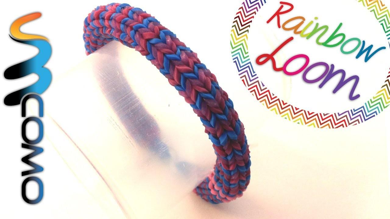 Rainbow Loom - Pulseira Hexafish