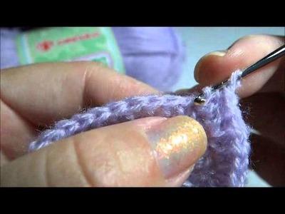 Sapatinho em Crochê em forma de Botinha   Parte  1