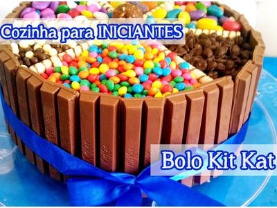 Bolo Kit Kat: Cozinha para Iniciantes | Dicas para Festas #tododia28