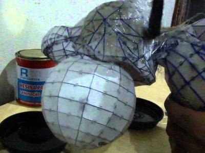 Como resinar papercraft - parte 5 - overdosegamer.blogspot.com.br