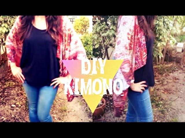 DIY - Kimono - Tutorial: How to make a kimono