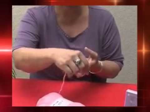 DIY Learn How To Easy Arm Knitting & Finger Knitting