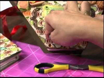 Mulher.com 01.10.2012 Paula Oliveira - Caderno de receitas em Scrapbooking 02
