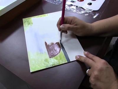 Mulher.com 06.10.2014 - Pintura Craquele e Text Madeira por Celia Bonomi - Parte 1