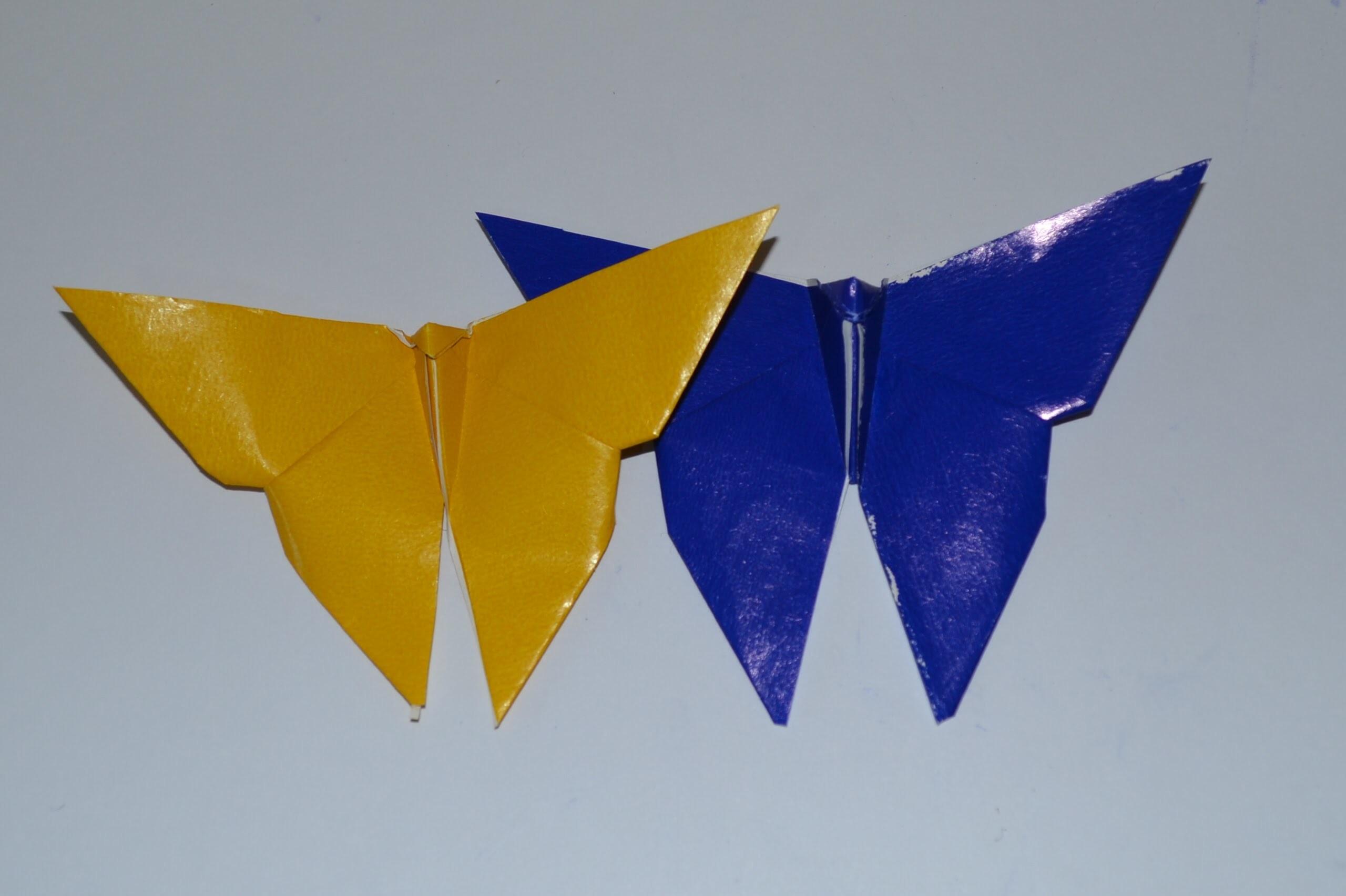 Origami: Borboleta Fácil
