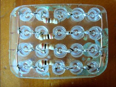 Pisca de led Facil, Barato e feito em casa para YBR, Titan, e similares