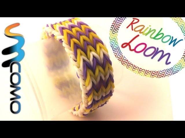 Rainbow Loom - Pulseira Triple Fishtail